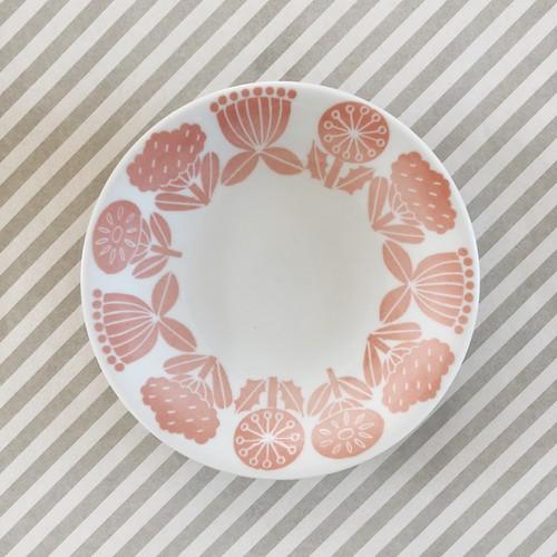 MATSUO MIYUKI X CHABBIT ohana PLATE (PINK)