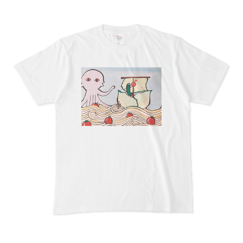 【税込・送料無料】飯田結万デザインTシャツ「サラダうどんの襲撃」