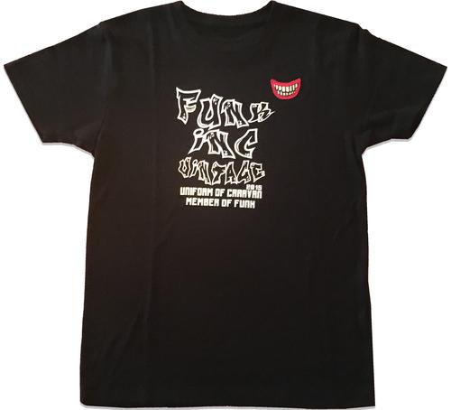 【在庫あり】【funk CARAVAN MEMBER Tシャツ】染み込みプリント