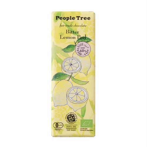 People Tree(ピープルツリー)フェアトレードチョコ ビター・レモンピール