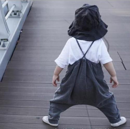 クロスバック キャミ オーバーオール サルエル サロペット 韓国子供服/韓国ベビー服 男の子&女の子