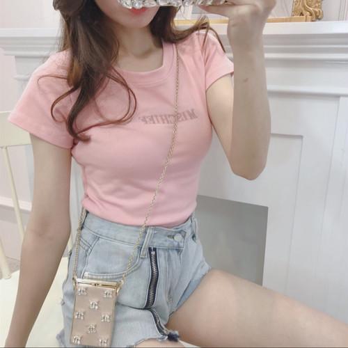 pinkTシャツ