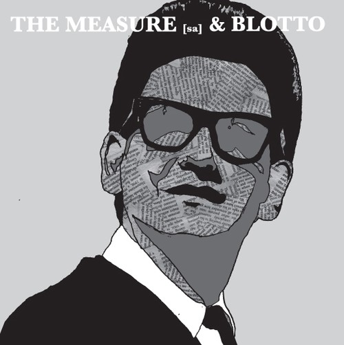 BLOTTO / THE MEASURE [SA] : split / 7inch