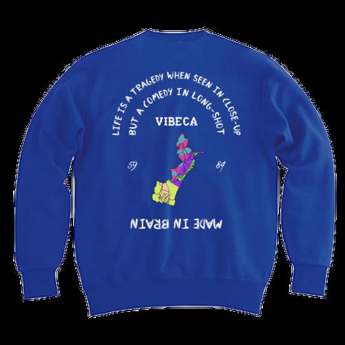 vibeca スウェット blue
