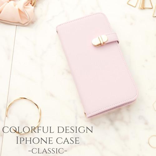 iphone SE(第二世代) ケース 手帳型 ミラー付き かわいい iphone 11 pro max カバー 手帳 おしゃれ iphoneXs XR iphone7 8 大人 可愛い アイフォン se2 カジュアル スタンド マグネットなし パステルピンク