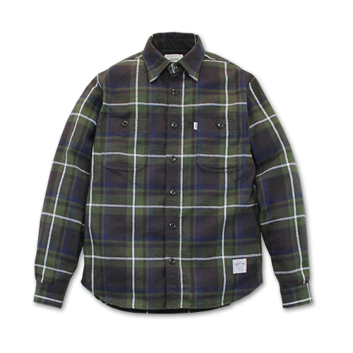SEVENTY FOUR / HEAVY FLANNEL SHIRT