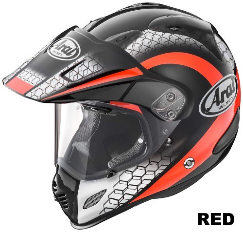 ARAI TOUR CROSS 3 MESH RED