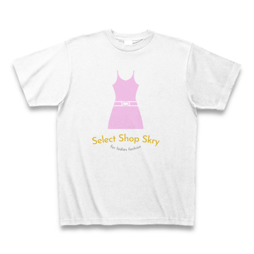 セレクトショップスクリ― ロゴ Tシャツ