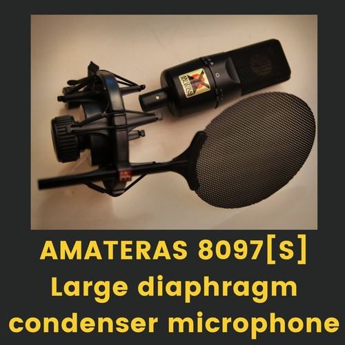 AMATERAS 8097[S] Large diaphragm condenser microphone