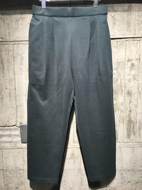 【DIET BUTCHER SLIM SKIN】2tucks jersey trousers