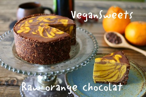 Vegan Orange Chocolat Cake 12