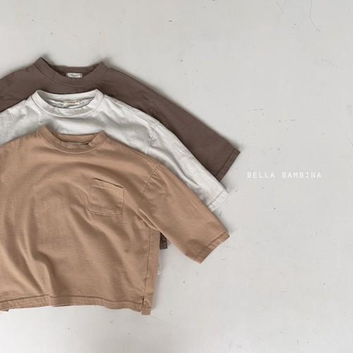=sold out=pocket T-shirt〈bella bambina〉