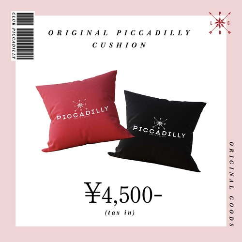 【CLUB PICCADILLY】Original Cushion