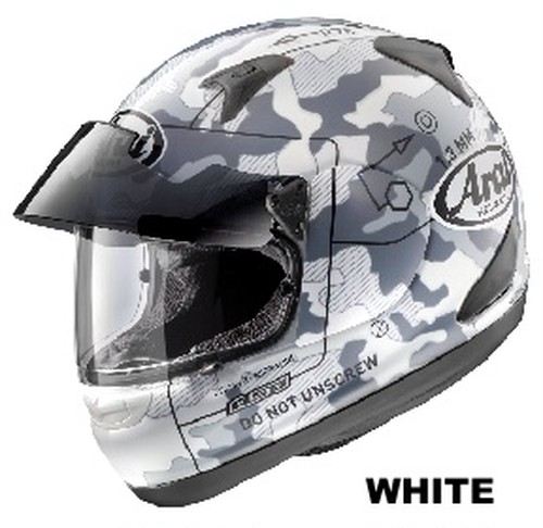 ARAI ASTRO PRO SHADE COMMAND white