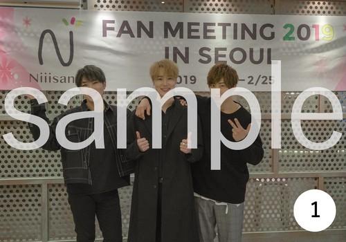 「FAN MEETING IN SEOUL 2019」ブロマイド No.1(GROUP)
