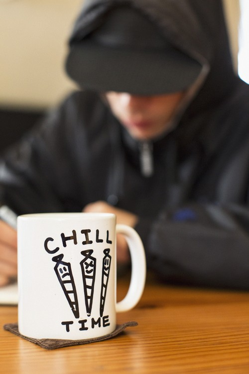 CHILL TIME COFFEE CUP