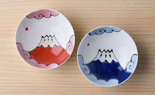 富士山 夫婦茶碗セット