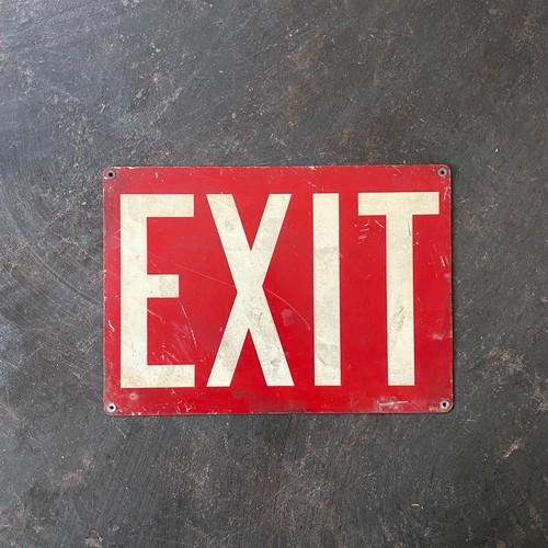 Vintage Exit Sign 1