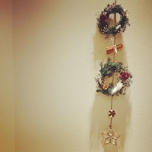 ガーランド*Mini wreath garland