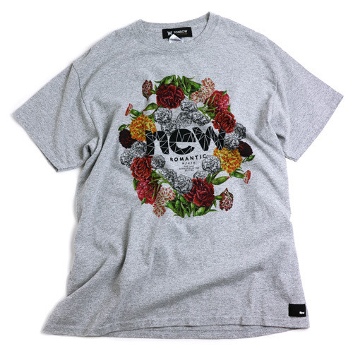 TONBOW の NEW ROMANTIC TEE -GRAY-