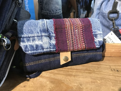 upcycle wallet 【裂き織り】