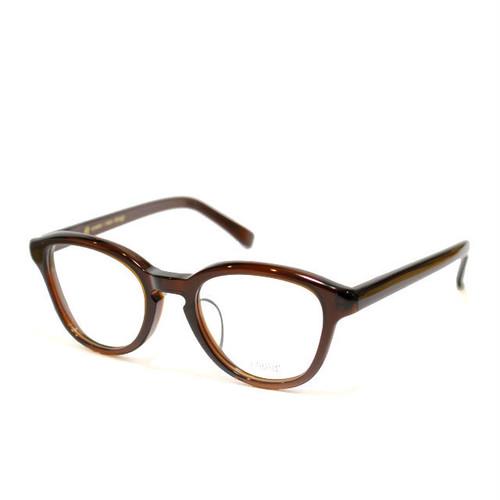 ayame:アヤメ 《NEWOLD -ニューオールド col.Brown》 眼鏡 ボストン×ウエリントン