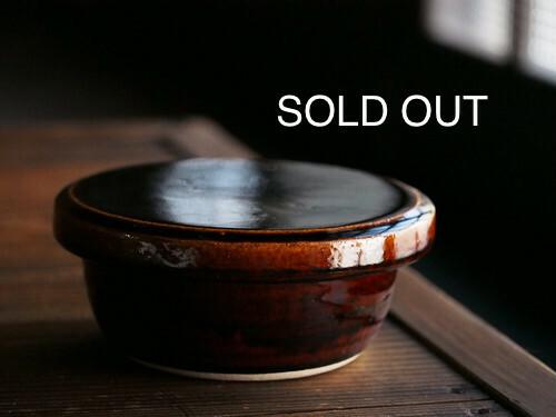 【売切】伊賀焼 カネダイ陶器 飯櫃(小)