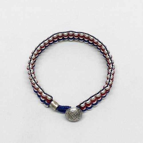 amp japan/Metal Beads Braid Bracelet