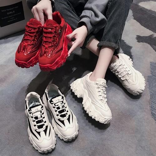 ダッドスニーカー 厚底 スパンコール 7cm メッシュ 韓国ファッション レディース スニーカー ダッドシューズ 厚底スニーカー ボリュームスニーカー スポーツ かわいい 歩きやすい カジュアル 610009796917