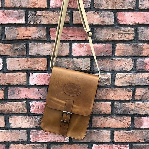 Trickers Leather Shoulder Bag Made In England