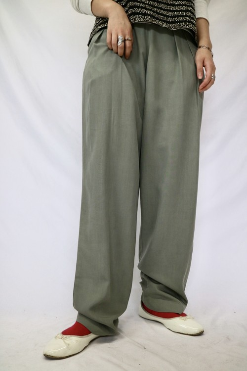 silk slacks pants