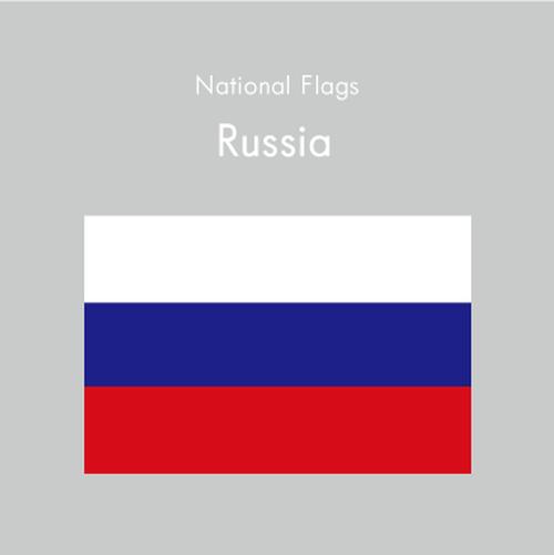 国旗ステッカー ロシア