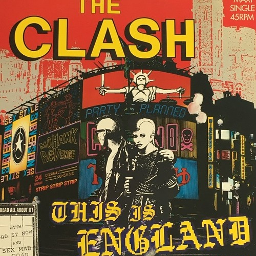 【12inch・蘭盤】The Clash / This Is England