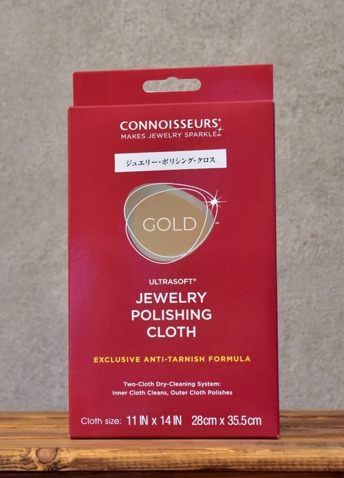 CONNOISSEURS ULTRASOFT® CLOTH GOLD / コニシュアーズ ウルトラソフトクロスゴールド