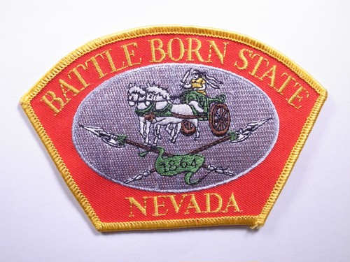 "PATCH""BATTLE BORN STATE NEVADA"""