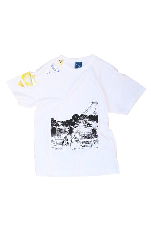 NO.526 吉祥寺井の頭公園のTシャツ【東京】【Mサイズ】