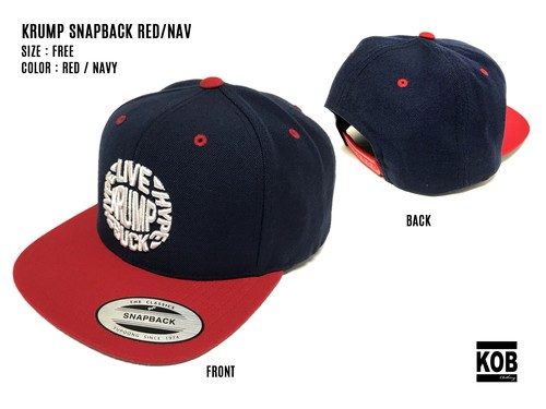 KRUMP SNAPBACK RED/NAV