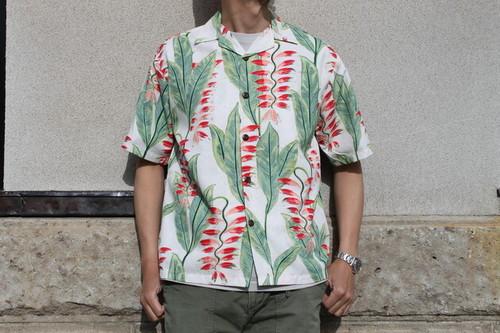 HILO HATTIE / Men's Aloha Shirts Heliconia Garden