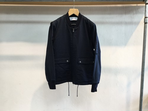 "30%OFF CURLY""AVIATOR BLOUSON NAVY"""