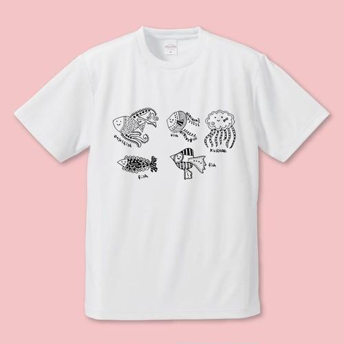 まなぴっぴのすいぞくかん Tシャツ