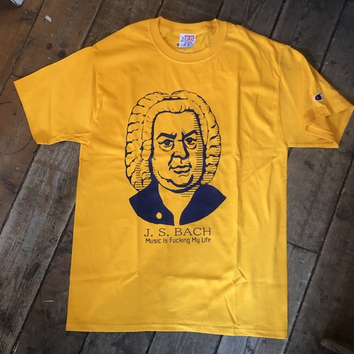 J.C. Bach Tee Shirts, Gold