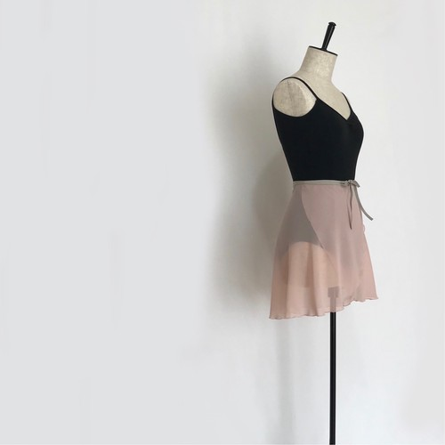 "❖""Fiorina"" Ballet Wrap Skirt - Lady Pink [Sheer](レディ・ピンク [シアー])"
