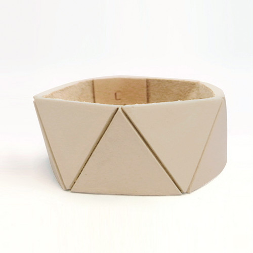 幾何学レザー Lauren Manoogian BRACELET〈 Slim 〉