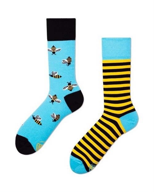 <MANY MORNINGS>靴下 BEE BEE ※再入荷