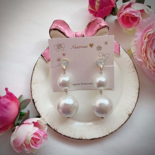 【限定色】heart bonbon♡white