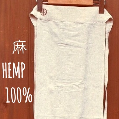 Tribal Artsオリジナル ラクチンふんどし(  ヘンプ100%)褌 もっこ 後ろの腰部分が 平らな ベルト状 で快適。麻100% 大麻 HEMP