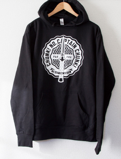 【CHUNK! NO, CAPTAIN CHUNK!】Twist The Knife Hoodie (Black)
