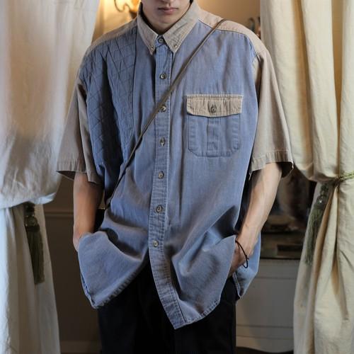 USA VINTAGE HALF SLEEVE SHIRT/アメリカ古着半袖シャツ