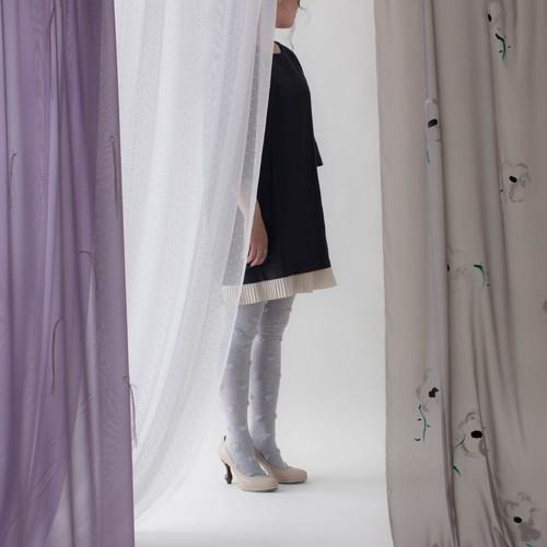 うつつ # 風のないカーテン (smork gray)