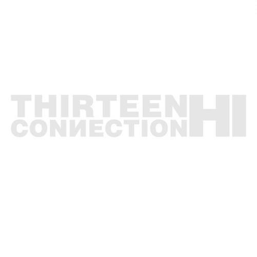 THIC STICKER カッティングステッカー(STK-003-WHITE) [210mm]